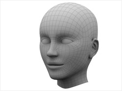 Head in 3DS MAX (3D tutorials)